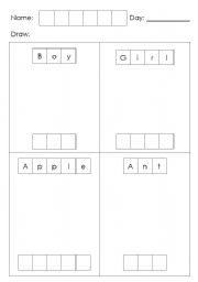 English Worksheets: Drawing literacy
