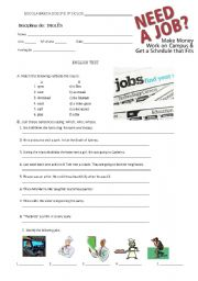 ADMINISTRATION OFFICER Jobs definitions TEST