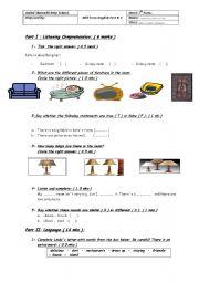 Mid-Term English Test N2