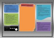 English Worksheets: Explanation Table Mat