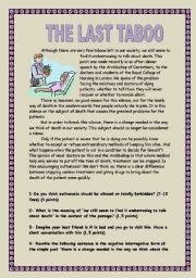 English Worksheets: EUTHANASIA. IS IT ETHICAL?
