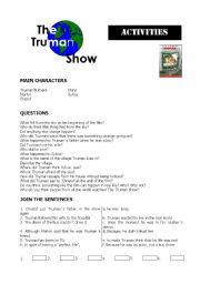 truman show activities