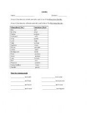 English Worksheets: genders