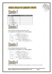 6 pages/14 exercises/137 sentences BUSINESS ENGLISH FOR ELEMENTARY STUDENTS