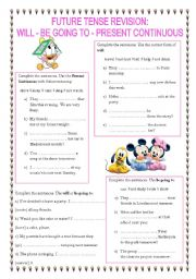 will and going to exercises pdf