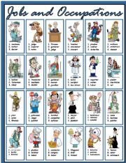 English Worksheet: Jobs and Occupations (part 1)