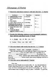 end of term test n:1 language part