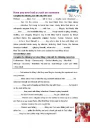English Worksheets: Something about mary