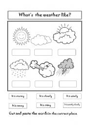 what s the weather like esl worksheet by mara69. Black Bedroom Furniture Sets. Home Design Ideas
