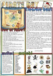 English Worksheet: Pirate Bay