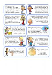 English Worksheets: stories