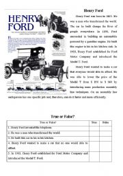 henry ford assembly line worksheet. Black Bedroom Furniture Sets. Home Design Ideas