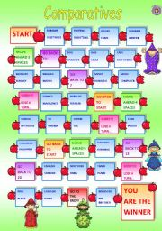 Comparatives Game