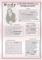 English Worksheets: Woody Allen