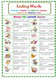 linking words french essays for kids