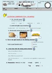 mid term test 7th form 2