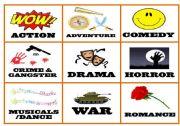 English Worksheet: Films Genres