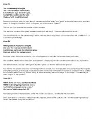 English Worksheets: Porphyrias Lover