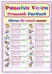Passive Voice.. Present Perfect Tense ...