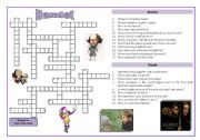 English Worksheet: Hamlet - crossword puzzle
