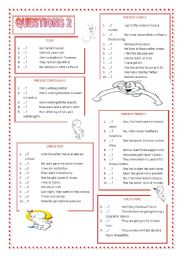 English Worksheets: QUESTIONS 2
