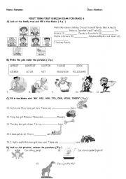 English teaching worksheets: 6th grade