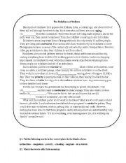 english worksheets reading in transportation. Black Bedroom Furniture Sets. Home Design Ideas