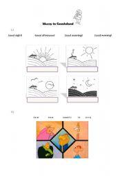 English worksheet: Muzzy (1)