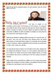 English Worksheets: Stella McCartney