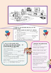 English Worksheet: A perfect revision for beginners
