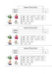 English Worksheets: word puzle