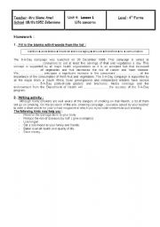 English Worksheets: Life concerns