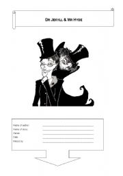 English Worksheets: Dr Jekyll & Mr Hyde