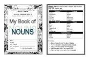 English Worksheets: noun booklet