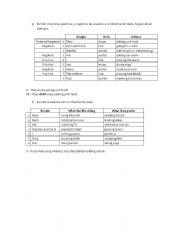 English worksheet: Like/Prefer/Enjoy