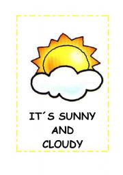 Weather flashcards.6 flashcards! cute clipart. Please count before reporting
