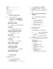 English Worksheets: Side by Side Course 2