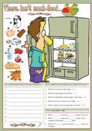 English Worksheets: There isn�t much food...