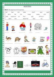 a good adjective worksheet - ESL worksheet by tossun