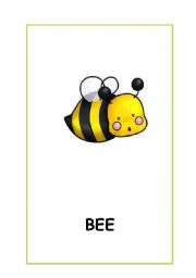 English Worksheets: Animals.Cute animal cards. 7 flashcards.