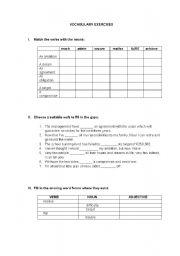 English Worksheets: Business Vocabulary worksheet