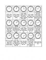 telling time esl worksheet by violeta21. Black Bedroom Furniture Sets. Home Design Ideas