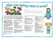 Make your apology easier to accept