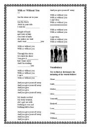 English Worksheets: Song