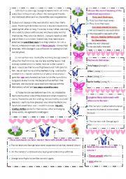 English Worksheets: childhood friends