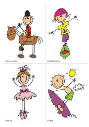 English Worksheet: SPORTS - Flash-cards