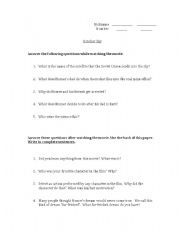 English Worksheets October Sky Movie Guide