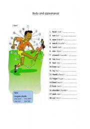 English Worksheets: Body