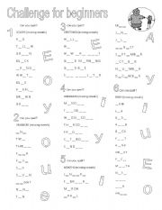 English Worksheets: Spelling