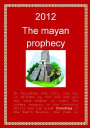 English Worksheets: 2012: The Mayan Prophecy